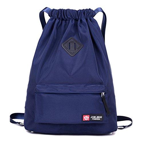 bf03c5c92b8c Dannyrober Waterproof Drawstring Sport Bag Backpack For Men Women ...