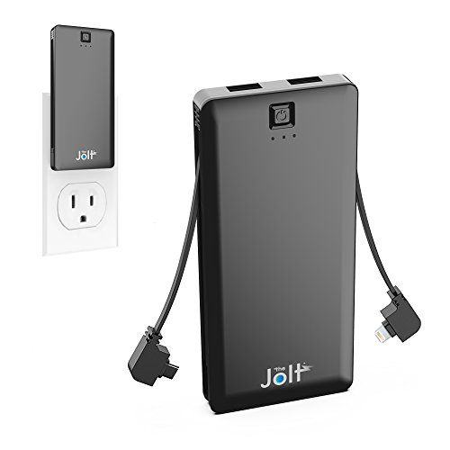 5000mah All In One Portable Charger With Built In Wall