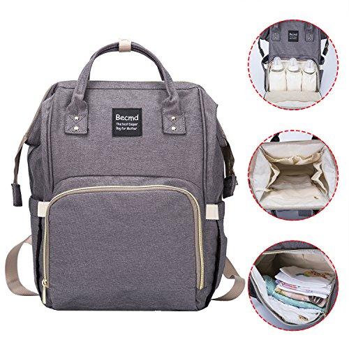 10fc48c21e Uigos Baby Diaper Backpack Bag for Women Multi Function Waterproof ...